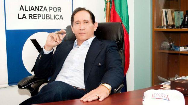 Carlos Canales, presidente del partido político Alianza por la República