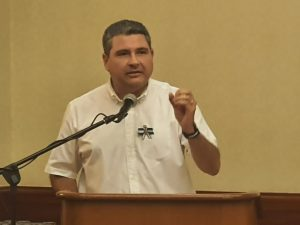 Juan Sebastián Chamorro, dijo este sábado que no es momento de andar hablando de candidaturas y llamó a sumar esfuerzos por la unidad