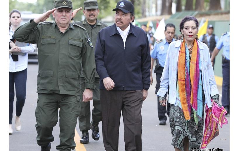 Daniel Ortega y Julio César Aviles