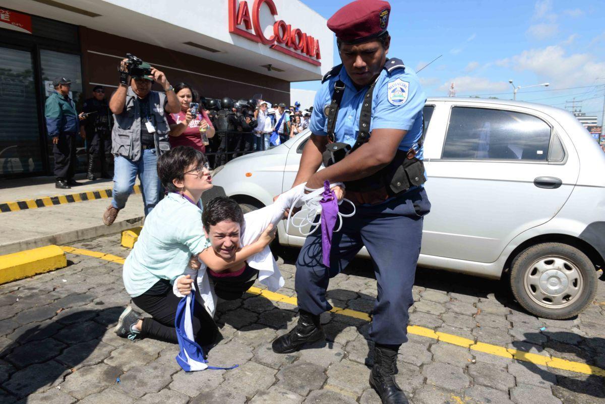 policia agresora